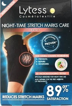 Lytess Night Time Stretch Marks Sm - Black