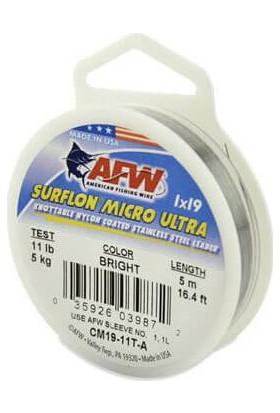 Afw Surflon Micro Ultra Çelik Tel 5m