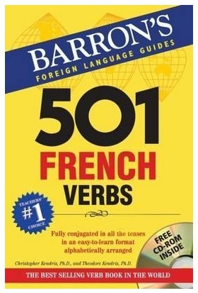 501 French Verbs (With Cd-Rom) 7Th Ed.