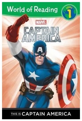 This Is Captain America (World Of Reading, Level 1)