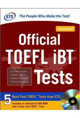 Official Toefl Ibt Tests Volume 2 (1St Ed.)