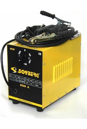 Soyberg 250 Amper Profesyonel Tip Kademeli Kaynak Makinesi