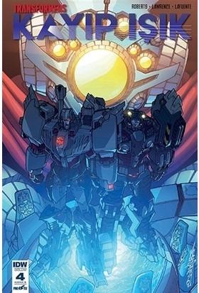 Transformers Kayıp Işık (Bölüm 4 Kapak B) - James Roberts