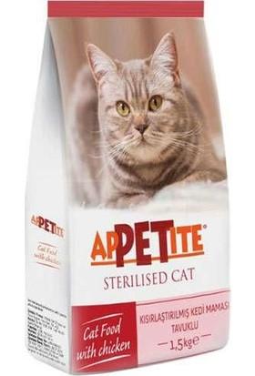 Appetite Sterilised Kısırlaştırılmış Tavuklu Kuru Kedi Maması