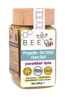 Bee'o Up Propolis Arı Sütü Ham Bal 190GR Çocuklar İçin