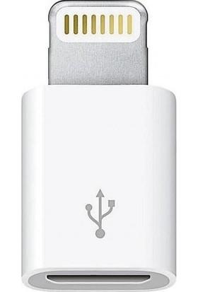 Tigdes Apple iPhone Micro USB Çevirici Dönüştürücü Adaptör 8 Pin Data