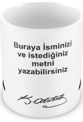 Acayip Hediyeler Kişiye Özel Atatürk Kupa Bardak (1)