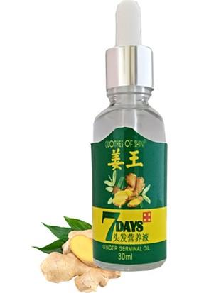 7 Days 30ml Gingergerminalessentialoil Hair Growth Loss Treatment Serum Unisex Saç Bakım Yağı