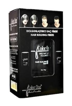 Color One Dolgunlaştırıcı Saç Fiberi Siyah 50GR