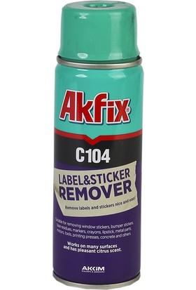 Akfix C104 Etiket Sökücü Sprey