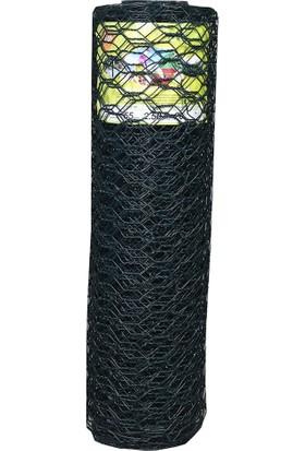 Telsan PVC Kaplı Petek Çit Teli 20 Metre