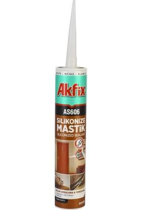 Akfix AS606 Silikonize Mastik - 7 Farklı Renk