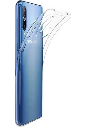 Aktif Aksesuar Samsung A20 Şeffaf Silikon Kılıf Ultra İnce Tıpalı