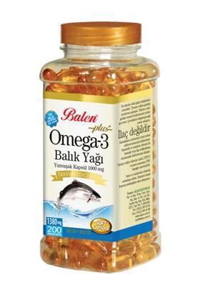 Balen Omega3 Balık Yağı 200LÜK