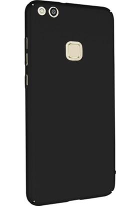 Caseup Huawei P10 Lite Kılıf Rubber Siyah + Nano Cam