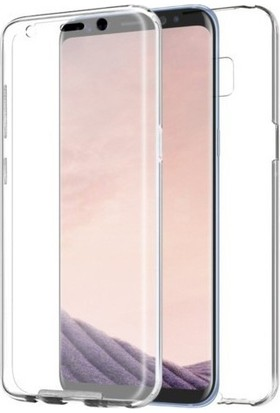 Kılıfreyonum Samsung Galaxy S6 Edge Ön Arka Şeffaf 360 Tam Koruma Kılıf