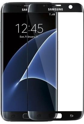 Kılıfreyonum Samsung Galaxy S6 Edge Kavisli 5D Koruyucu Cam Siyah