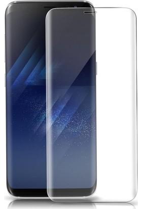 Kılıfreyonum Samsung Galaxy S8 Kavisli 5D Koruyucu Cam Şeffaf
