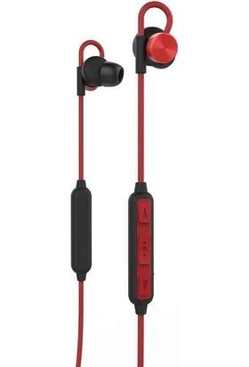 Bluetooth Wireless Su Geçirmez Mıknatıslı Spor Kulaklık Kırmızı