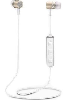 Kılıfreyonum Bluetooth Wireless Mıknatıslı Spor Kulaklık Gold