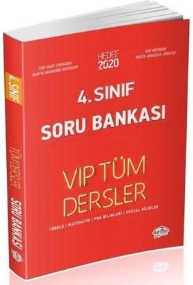 Editör Yayınları 4. Sınıf VIP Tüm Dersler Soru Bankası-Kırmızı Kitap
