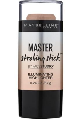 Maybelline New York Master Strobing Stick Aydınlatıcı 200 Medium Nude Glow - Orta Ton