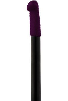 Maybelline New York Color Sensational Vivid Matte Likit Ruj - 45 Possessed Plum - Mürdüm