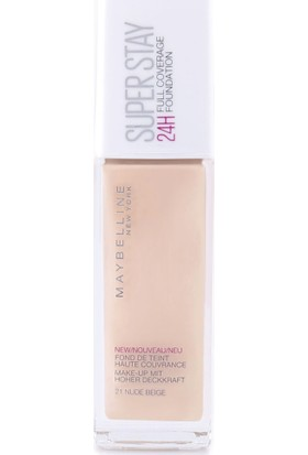 Maybelline New York Superstay 24H Fondöten - 021 Nude Beige