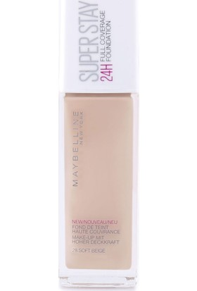 Maybelline New York Superstay 24H Fondöten - 028 Soft Beige