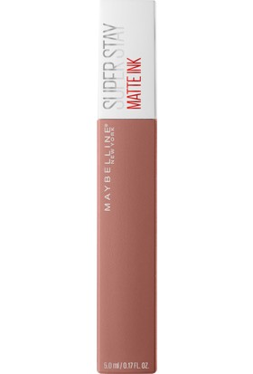 Maybelline New York Super Stay Matte Ink Unnude Likit Mat Ruj - 65 Seductress - Nude