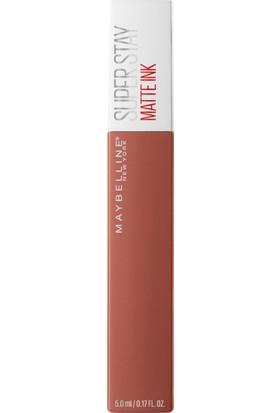 Maybelline New York Super Stay Matte Ink Unnude Likit Mat Ruj - 70 Amazonian - Kahverengi