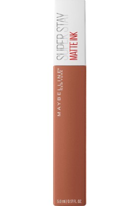 Maybelline New York Super Stay Matte Ink Unnude Likit Mat Ruj - 75 Fighter - Kahverengi