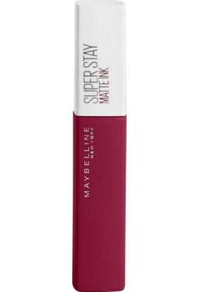 Maybelline New York Super Stay Matte Ink City Edition Likit Mat Ruj - 115 Founder