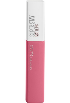Maybelline New York Super Stay Matte Ink City Edition Likit Mat Ruj - 125 Inspirer