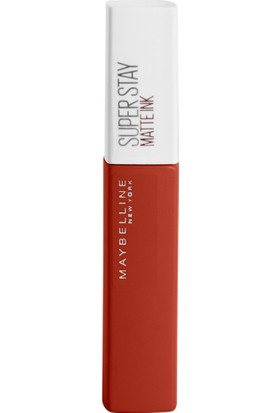 Maybelline New York Super Stay Matte Ink City Edition Likit Mat Ruj - 117 Ground-Breaker