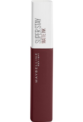 Maybelline New York Super Stay Matte Ink City Edition Likit Mat Ruj - 112 Composer