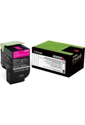 Lexmark 808Hme Kırmızı Toner (80C8Hme) Cx410 / Cx510