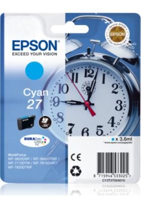 Epson 27 T2702 Mavi Kartuş Wf-3620 / Wf-7110 / Wf-7610 / Wf-7620