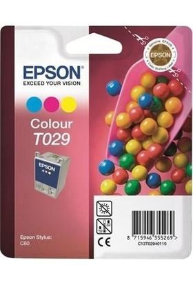 Epson C13T02940120 T029 Renkli Kartuş