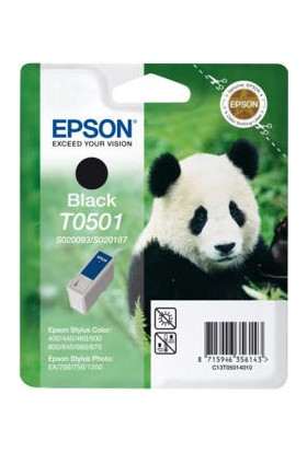 Epson S020093 T0501 Siyah Kartuş