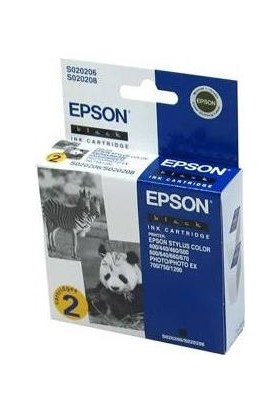 Epson S020206 / S020208 Siyah Kartuş