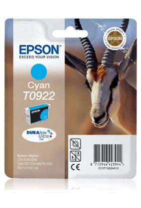 Epson T0922 Mavi Kartuş C91 / Cx4300 / Cx5900 / Cx6900 / Tx106 / Tx117 / Tx119