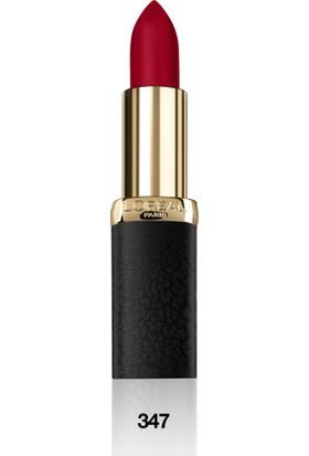 L'Oréal Paris Color Riche Matte Addiction Ruj 347 Haute Rouge - Kırmızı