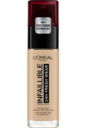 L'Oréal Paris Infaillible 24H Fondöten 125 NATURAL ROSE