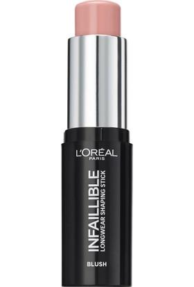 L'Oréal Paris Infaillible Shaping Stick Allık 001 Sexy Flush