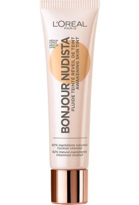 L'Oréal Paris Bonjour Nudista Aydınlık Veren Renkli Nemlendirici 04 Medium Dark - Koyu Ton