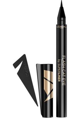 L'Oréal Paris Superliner Flash Cat Eye Siyah Eyeliner