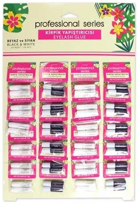 Elly 24LÜ Kirpik Yapıştırıcısı Set