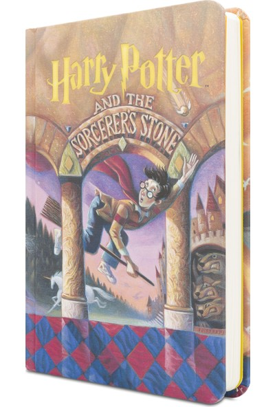 Mabbels Harry Potter Felsefe Taşı Defter 80 Sayfa 11.50X17 Cm