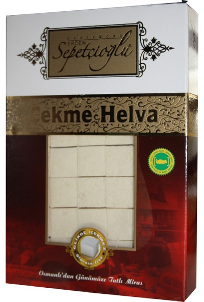 Sepetçioğlu Sade Çekme Helva 280 gr 3' lü